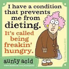 Aunty Acid - Week 6-2015 - dieet