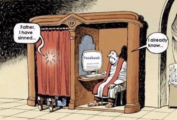 Facebook biecht