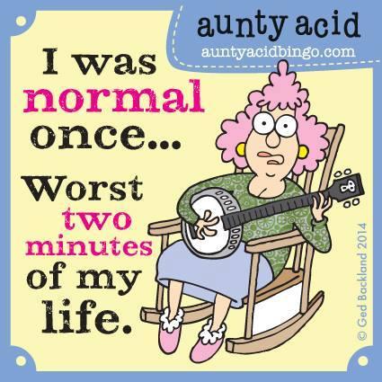 Aunty Acid - Ooit normaal- Week 18