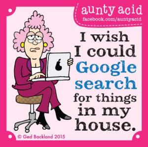 Aunty Acid - Week 13-2015 - Google