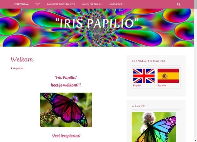 Iris papilio