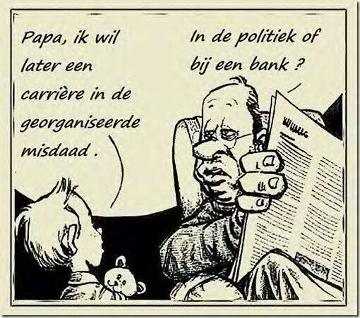 Politiek of Bank