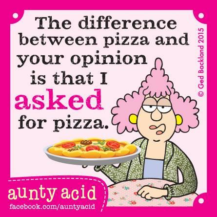 Week 16 - Pizza - Aunty Acid