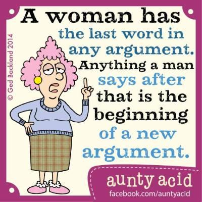 Aunty Acid - Laatste woord - Week 23