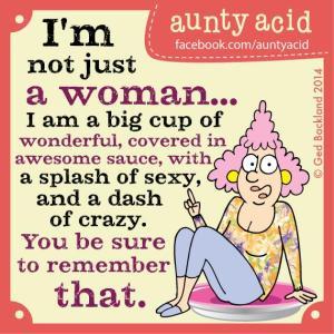 Aunty Acid - Niet zomaar een vrouw - Week 20