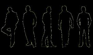 Mannen-in-beweging