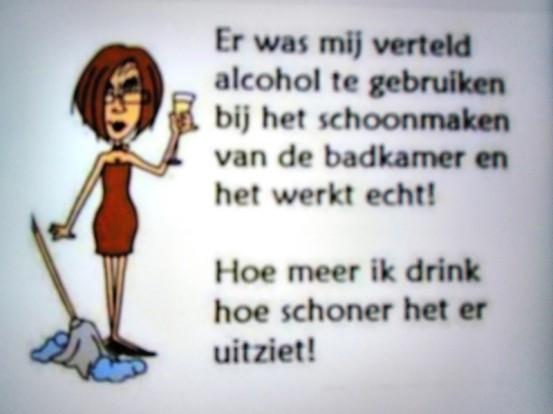 Schoonmaak-alcohol