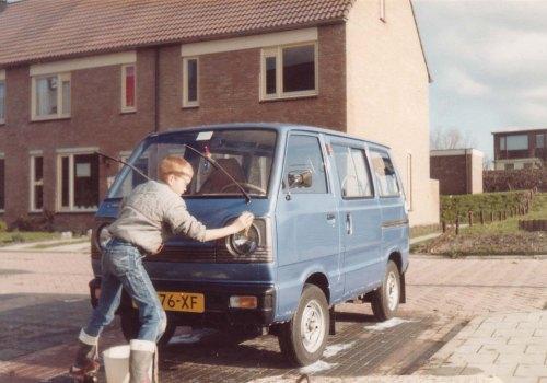 Suzuki busje voor Poldermolen