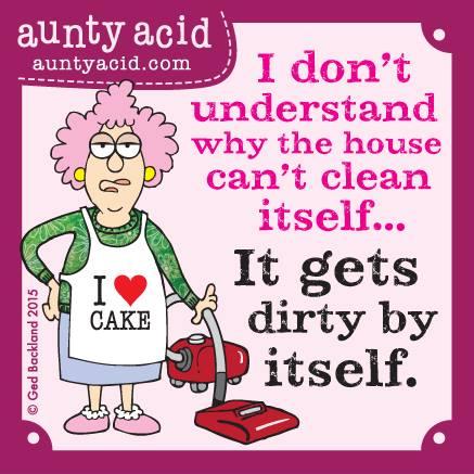 Aunty Acid - Schoon - vuil huis - Week 34
