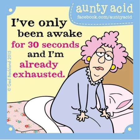 Aunty Acid-30 sec wakker-Week 49