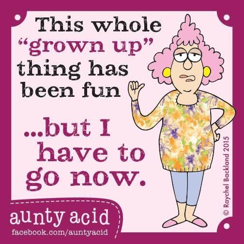 Aunty Acid - Volwassen - Week 47