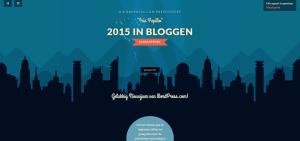 Je 2015 jaar dat je blogt