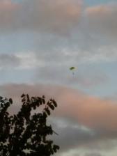 Parachutes boven Playa del Ingles 9-1-2016 (2)