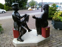 Rembrandt en Saskia, bij de molen