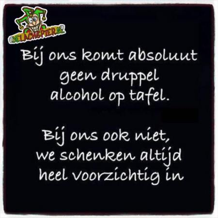 Alcohol morsen