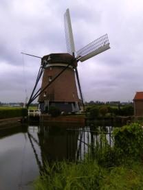 Bewoonde molen in Akersloot
