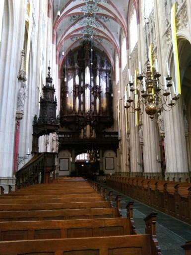 Interieur St Jan's Kathedraal