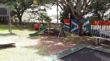 In de speeltuin